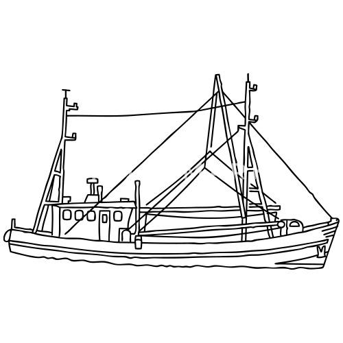 Fishing Boat Dogger Kids Premium T Shirt