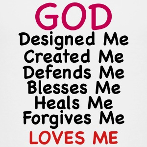 God Loves Me - Kids' Premium T-Shirt