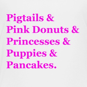 Pigtails & Pink Donuts - Kids' Premium T-Shirt