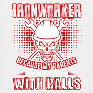 Ironworker A Man With Balls Shirt - Kids' Premium T-Shirt