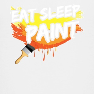 EAT SLEEP PAINT TEE SHIRT - Kids' Premium T-Shirt