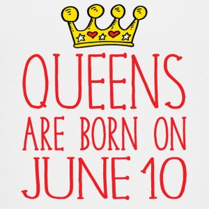 Queens are born on June 10 - Kids' Premium T-Shirt
