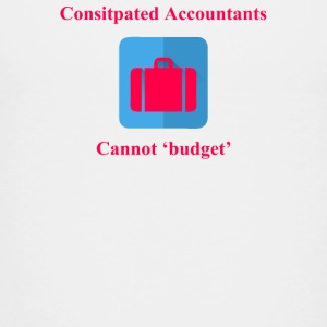 Consitpated Accountants - Kids' Premium T-Shirt