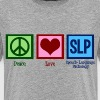 Peace Love SLP - Kids' Premium T-Shirt