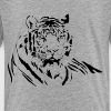 TIGER silhouette tattoo art - Kids' Premium T-Shirt