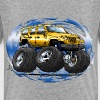 Jeep_JK4_Yellow_SPS - Kids' Premium T-Shirt