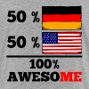 Half German Half American 100% Awesome - Kids' Premium T-Shirt