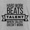 hard work beats talent when talent doesn't work - Kids' Premium T-Shirt