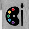 Color Palette With Brush (Art / Artist / Painter) - Kids' Premium T-Shirt