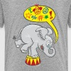 Circus Elephant Saying Bad Words - Kids' Premium T-Shirt
