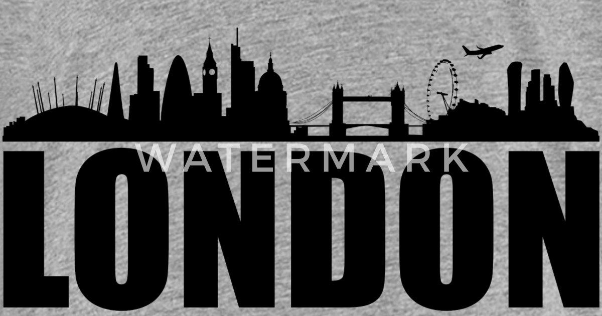 London Skyline Silhouette By Eber Hunt