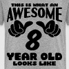 This is what an Awesome 8 year old looks like - Kids' Premium T-Shirt