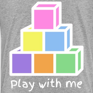 Play With Me (version white) - Kids' Premium T-Shirt