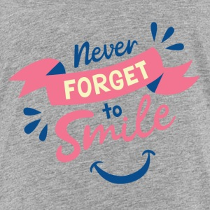 Never forget to smile - Kids' Premium T-Shirt
