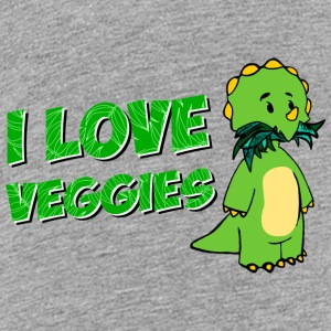I Love Veggies - Kids' Premium T-Shirt
