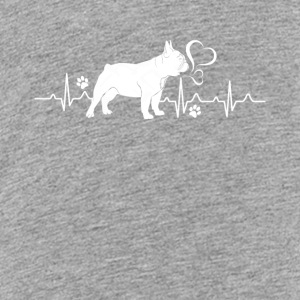 French Bulldog Heartbeat Shirt - Kids' Premium T-Shirt