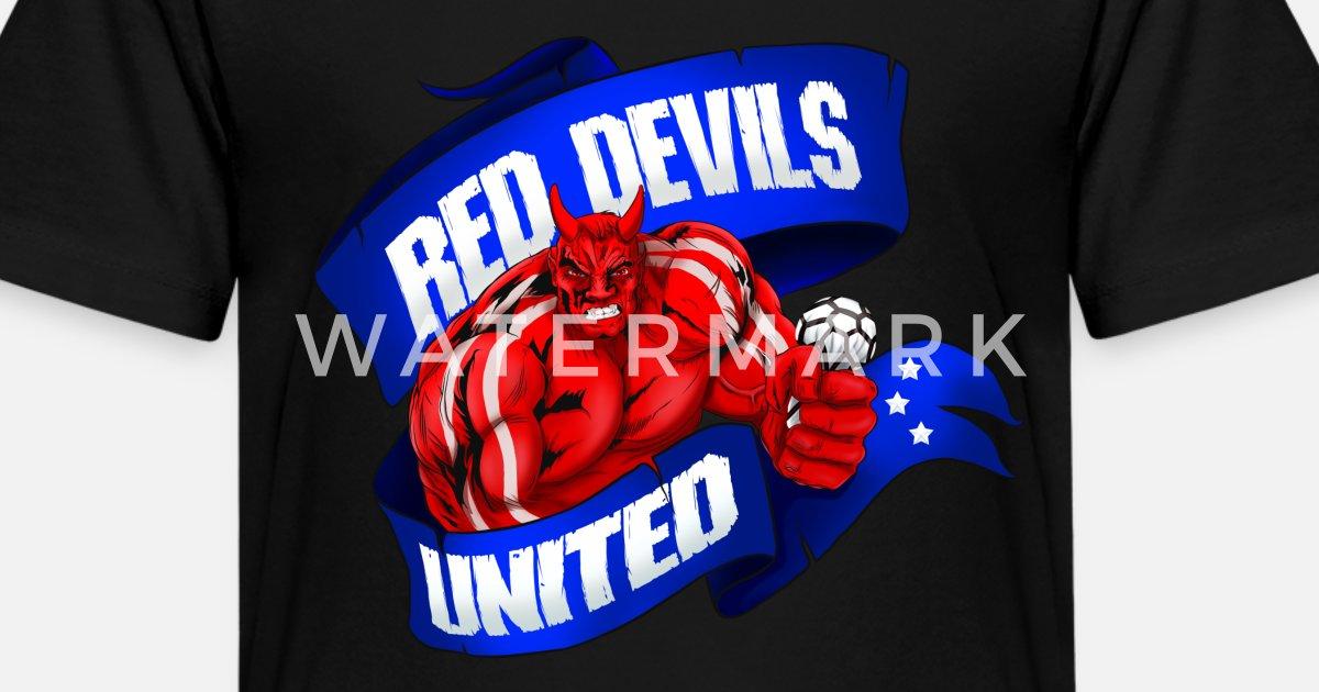 bc8f5e8aee6bc Manchester United & Red Devils Kids' Premium T-Shirt | Spreadshirt