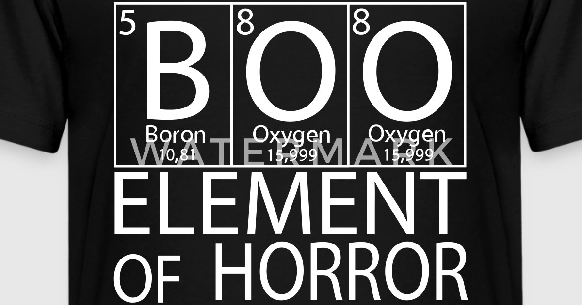Halloween periodic table boo element of horror by spreadshirt trends halloween periodic table boo element of horror by spreadshirt trends spreadshirt urtaz Image collections