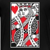 King of Hearts Vector - Kids' Premium T-Shirt