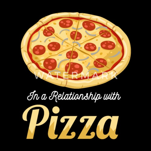 1d1dee629649 In a relationship with pizza Kids  Premium T-Shirt