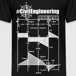 Civil Engineering Shirts - Kids' Premium T-Shirt
