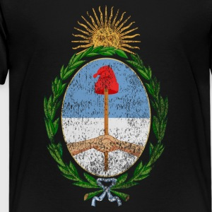Argentinian Coat of Arms Argentina Symbol - Kids' Premium T-Shirt