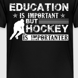 Hockey Is Importanter Shirt - Kids' Premium T-Shirt