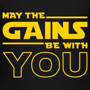 May The Gains Be With You - Kids' Premium T-Shirt