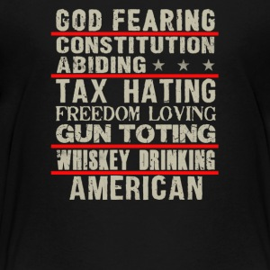 God fearing constitution abiding - Kids' Premium T-Shirt
