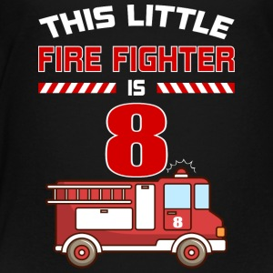 THIS LITTLE FIRE FIGHTER IS 8 - Kids' Premium T-Shirt