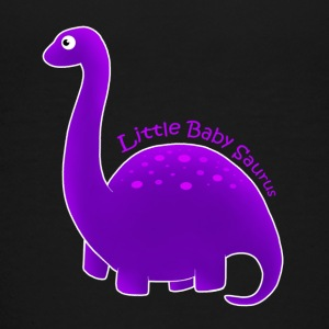 Purple Little Baby Saurus - Kids' Premium T-Shirt