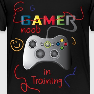 Noob in training - Kids' Premium T-Shirt