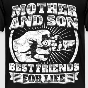 Mother And Son Gift Family Mom Fist Bump Tee - Kids' Premium T-Shirt