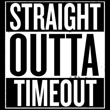 2fb49bd3a Straight Outta Time Out Kids' T-Shirt | Spreadshirt