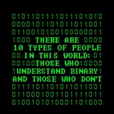 Those Who Understand Binary Programmer Coder Toddler
