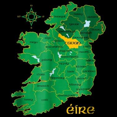 Kids Map Of Ireland.Meath Ireland T Shirt Irish County Map Eire Irish Baby Bib Spreadshirt