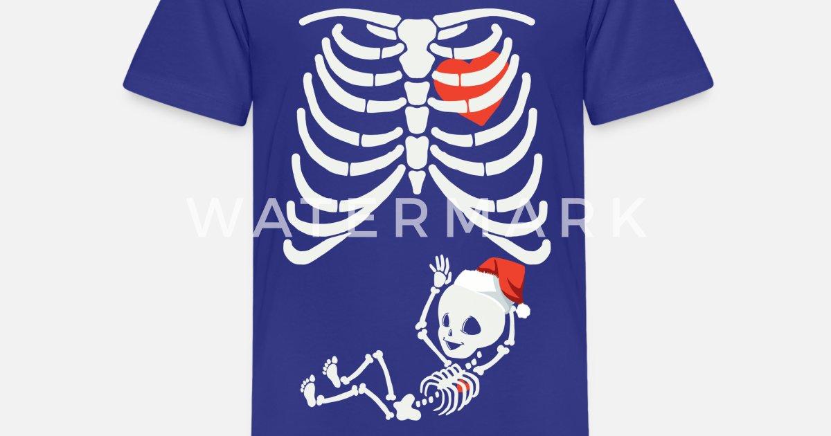 weltweite Auswahl an lebendig und großartig im Stil zuverlässigste Skelett Mama mit Baby Junge Weihnachten Kids' Premium T-Shirt | Spreadshirt
