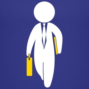 A Consultant Is Running With His Briefcase - Kids' Premium T-Shirt