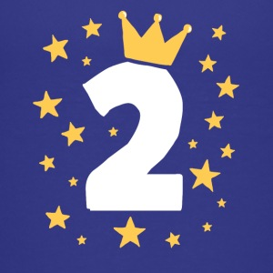 Kids Birthday 2 Year Boy King Girl Princess Crown - Kids' Premium T-Shirt