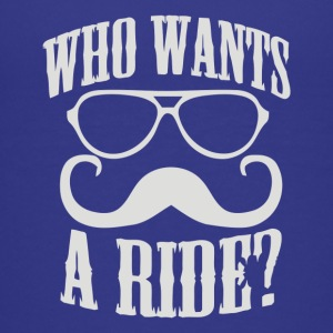 Who Wants To Ride - Kids' Premium T-Shirt