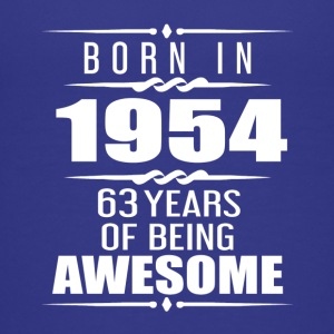 Born in 1954 63 Years of Being Awesome - Kids' Premium T-Shirt