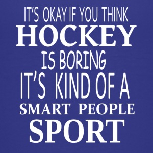 Hockey Smart Sport- cool shirt,geek hoodie,tank - Kids' Premium T-Shirt