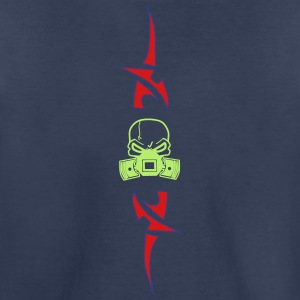 Head with Pistons in Tribal - Kids' Premium T-Shirt