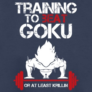dragon ball super saiyan training to beat goku - Kids' Premium T-Shirt