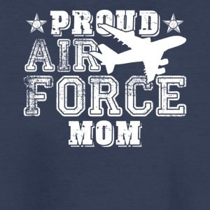 Proud Air Force Mom Shirt - Kids' Premium T-Shirt