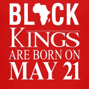 Black kings born on May 21 - Kids' Premium T-Shirt