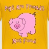 Pigs Are Friends Not Food - Kids' Premium T-Shirt