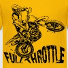 Off-Road Motocross Dirt Bike Full Throttle - Kids' Premium T-Shirt