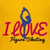 I love figure skating - Kids' Premium T-Shirt