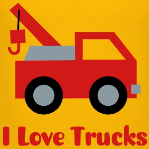 cute tow truck, land vehicle, for kids